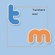mixiとTwitter。