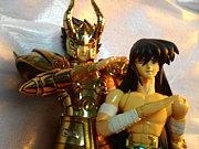 聖闘士星矢 シュラ&紫龍