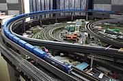 模型で貨物列車