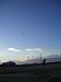元旦に津之江で凧揚げをする会
