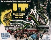 水爆と深海の怪物