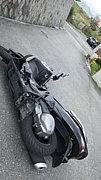 バイクの擦り傷で落ち込む自分