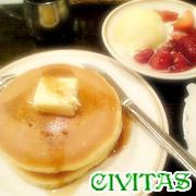 CIVITASのホットケーキがスキ♪