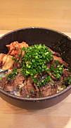 大阪*炭火焼肉丼「えびすさん」