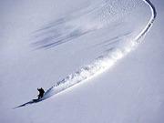 スノーボードでバックカントリー