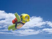 陸上スカイダイビング♪