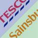 tesco と sainsbury's