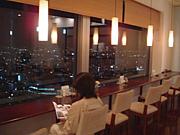 夜景がみえるカフェ