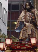 山車人形と彫刻