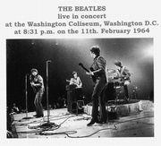 The Beatles at Washington D.C.
