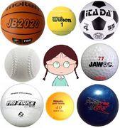 趣味は球技。