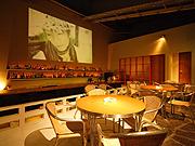restaurant bar 夕日