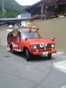栄光ある岩泉町大消防団
