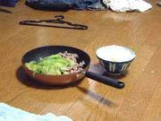 漢の手抜き料理