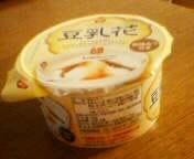 netのお供の豆乳花