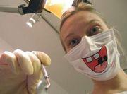 歯医者で目のやり場に困る
