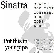 Sinatra - DSL for web-app -
