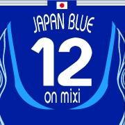 mixiをJapan blueに染めよう!