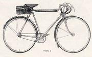 英国式自転車クラブモデル