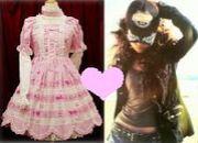 ロリィタと私服のタイプが違う