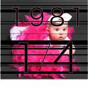1981年1月4日生まれ