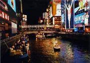 大阪ミナミの歓楽街 東心斎橋