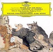 動物の謝肉祭+ピーターと狼