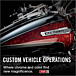 Custom vehicle operations,