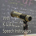 KUEL Speech Instructors 2011