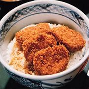 志多美屋のソースカツ丼