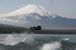 山中湖 ウェイクボード