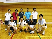 大阪市内ソフトテニス