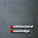 Architectural Knowledge