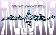 snowboard team [SNOWGANG]
