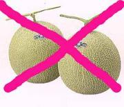 メロン食えません