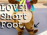 LOVE!Short Foot.