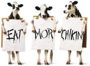 Chick-fil-A * EAT MOR CHIKIN