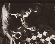 コーヒーとタバコ。あと音楽