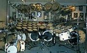 ドラムセットは要塞