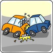 交通事故で困ったことがある。