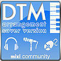 DTM打込みでカバー、アレンジ