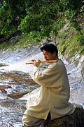笛奏者  雲 龍