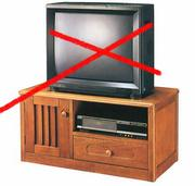 テレビ見ません