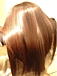 髪の毛を触るのが好き