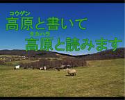 私、高原(タカハラ)でっす!!