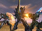 MMORPG「AGE OF ARMOR」