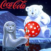 コカコーラの白クマ