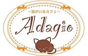 猫がいるカフェ アダージョ
