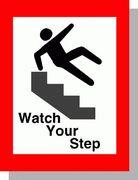 階段から落ちがち