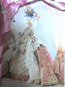 ロココのドレス